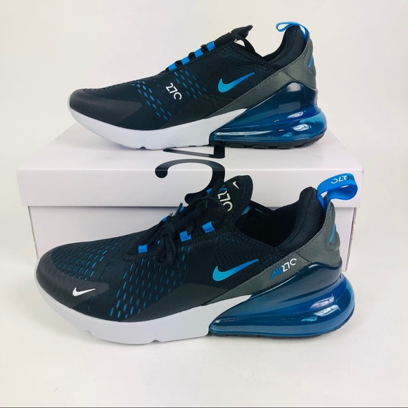 1b9bf496a5 Nike Shoes | Air Max 270 Black Photo Blue 105 New | Poshmark